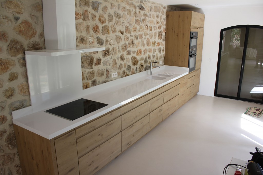 plan de travail cuisine quartz blanc pure silestone. Black Bedroom Furniture Sets. Home Design Ideas