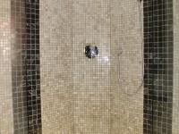 sol et mur de douche
