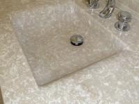 vasque tailler dans la masse marbre botichino marbrerie bonaldi var fréjus le muy saint raphaël  copie