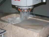 Création d'un évier creusé dans la masse en pierre