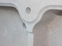 detail evier en pierre massif marbrerie bonaldi var le muy
