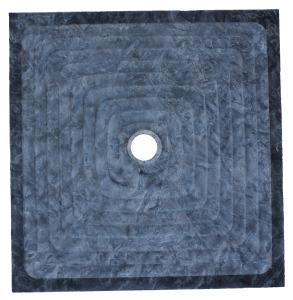 bac douche texturé en pierre marbrerie bonaldi