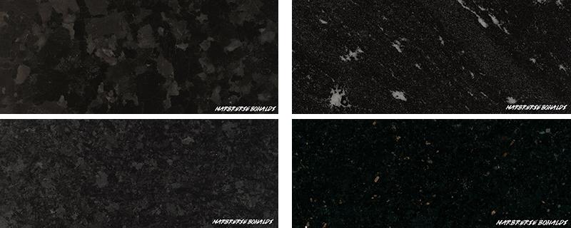 4 granit noir