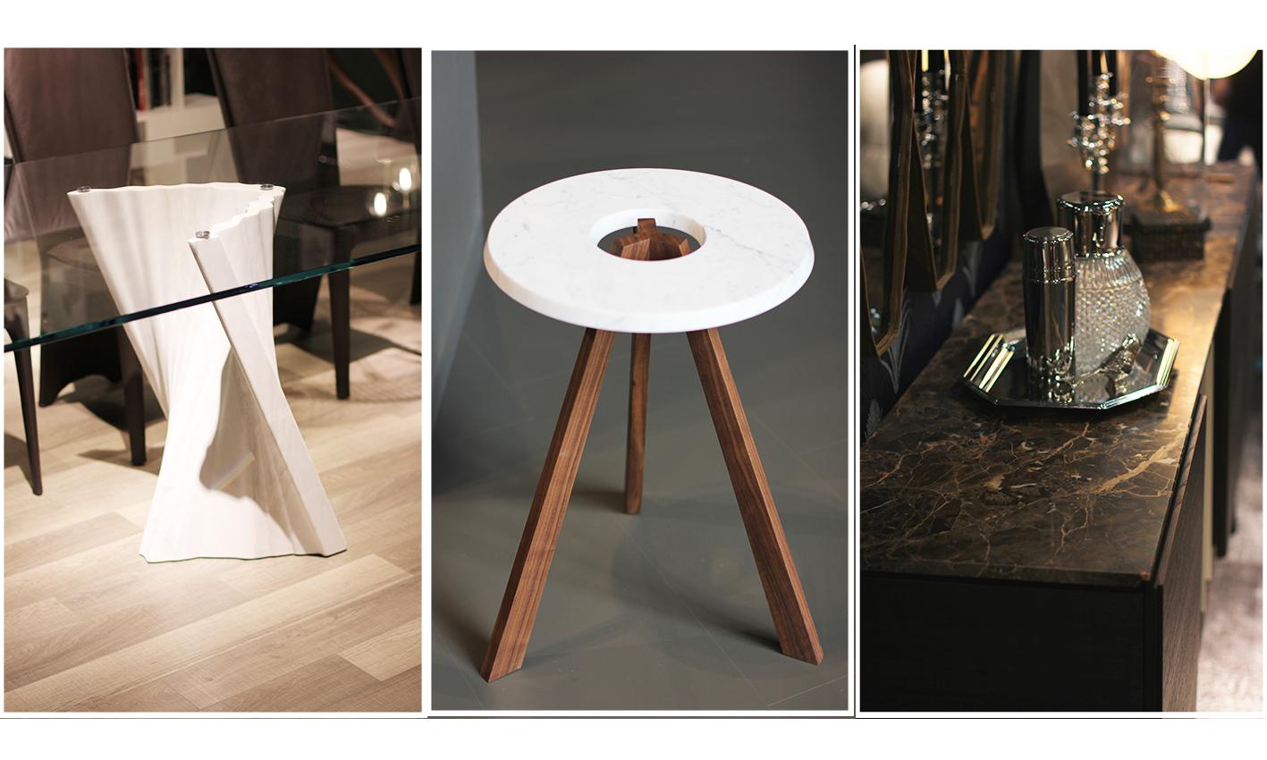 salon du meuble et du design milan 2014 marbrerie bonaldi. Black Bedroom Furniture Sets. Home Design Ideas